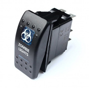 Bandc Blue Led Zombie Lights Rocker Switch Arb Lightforce Gq 80 Hilux Jeep Spst On/off