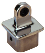 Sea Dog 270191-1 Square Internal Eye End for 3.2cm OD Tube