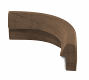 SeaTeak 60833 Outside Corner Rail Moulding