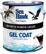 Sea Hawk Premium Quality Gel Coat, Black Qt. NPG1908.8l