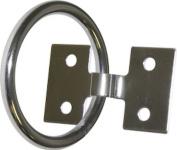SeaSense Stainless Steel Mooring Ring, 5.1cm x 0.6cm
