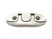 Whitecap Industries Hardware 6744 Stainless Steel Folding Cleat, 10cm - 1.4cm