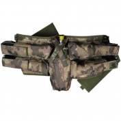Empire Paintball BT 4+1 Elastic hook and loop Harness, Camo