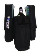 Zephyr Sports 2+1 Harness - Black