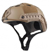 Lancer Tactical PJ Type FAST Helmet (Dark Earth) CA-725T