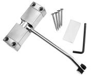 Steel Adjustable Spring Door Closer Automatic 97 x 30 x 20mm for 20-40KG Door