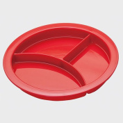Red Portion Plate