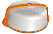 BIESSE CASA 09912 Cake Dome with Security Seals, Black