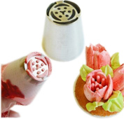 Piping Nozzles for Cake Decoration Steel 6 Petal Tulip