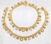 Anklet Bollywood Latest Branded New Pave . designer Fashion gold plated High Quality Fine Payal