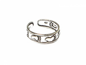 ADJUSTABLE 925 Sterling Silver TOE Ring (TR1261152) - Gift Boxed