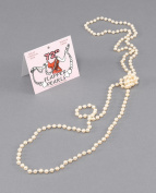 Flapper Beads 180cm Pearls Jewellery Accessory for 20s 30s Moll Fancy Dress Jewellery