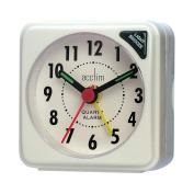 Acctim Bentima Ingot Quartz Travel Alarm Clock Light & Snooze - 1258