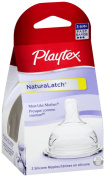 Playtex NaturaLatchNipple, Fast Flow, 2-Count