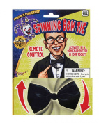 Bow Tie Spinning Tie Accessory for Clown Circus Fancy Dress Tie