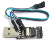 PL2303 USB UART Board (mini) PL-2303HX PL-2303 USB TO TTL Module/Drivers are available for Windows 98 to Windows 7