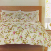 Catherine Lansfield Butterfly Hedgerow Cotton Rich Double Quilt Set, Multi