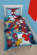 Character world Disney Spiderman Ultimate Thwip Single Panel Duvet Set
