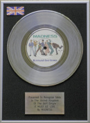 Madness - 18cm Platinum Disc - It Must Be Love