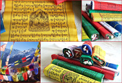 Tibetan Buddhist Prayer Flags (10 flags) Medium 2.7M Total Length