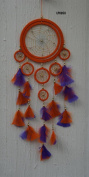 60cm Orange & Purple Dream Catcher by Leonardo Collection lp8950