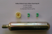 Lifejacket Rearming Kit for Halkey Roberts Auto Inflator with extra clip