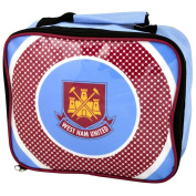 West Ham United FC Official Football Gift School Lunch Box Cool Bag