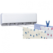 Rayen 0041 Automatic Clothesline with Four Extendible Clotheslines Each Measuring 5 m