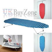 Folding Table Top Ironing Board Compact Foldable Travel Camping Space Saver