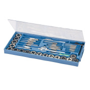 Silverline MS51 Tap and Die Set, 40-Piece