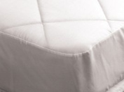 Super Saver Polycotton Quilted Pair Of Pillow Protectors