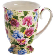 Maxwell & Williams Royal Old England S56954 Cup Oval with Sweet Pea Design Packaged in Gift Box