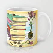 koienOU - Books - Funny Cup / Customise Cup 330ml 9.7cm H x 3.5.1cm W