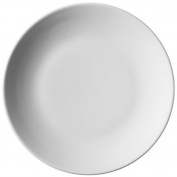Royal Genware Coupe Plates 26cm - Pack of 6 | 10.25inch Dinner Plates, White Plates, Porcelain Plates | Commercial Quality Tableware by Royal Genware