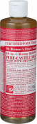 Dr. Bronner's Pure Castile Soap - Fair Trade and Organic - Liquid - 18 in 1 Hemp - Rose - 470ml