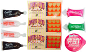 Date Night Ideas Kit~Massage Candle~Lover's Lotto~Lubricants~Chocolate & Flavoured Treats