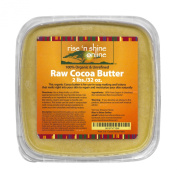 950ml Unrefined Bulk Organic Raw Cocoa Butter - FREE RECIPE EBOOK - Perfect for Your DIY Home Recipes Like Soap Making, Lotion, Shampoo, Lip Balm and Hand Cream - Helps with Stretch Marks and Scars