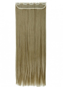 Sexybaby 3/4 Full Head 80cm Long Straight Real Synthetic Clip in Hair Extensions One Piece 150G