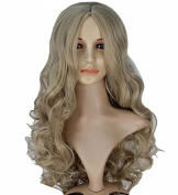 TopWigy Women's Long Anime Costume Curly Synthetic Hair Cosplay Party Wig +Wig Cap