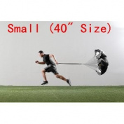 AGPtek® High Quality Speed Training Resistance Parachute Power Running Chute - Small