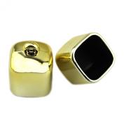 PendantScarf Fashion Gold Tone Plastic Square DIY Jewellery Scarf Beads Caps