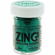 Zing! Glitter Embossing Powder 30ml-Green