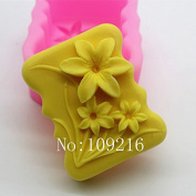 Creativemoldstore 1pcs Narcissus Flower (ABL-01) Craft Art Silicone Soap Mould Craft Moulds DIY Handmade Soap Mould