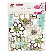 Creative Cuts Wildflower Pre-Cut Fabric Squares, 32-Count