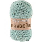 Natural Alpaca Tweed Yarn-Mist