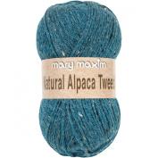 Natural Alpaca Tweed Yarn-Cool Stream