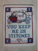 Friend Cross Stitch Kit #942