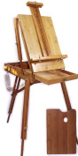 Premium Bamboo French Easel Artist Quality ...Versatile for Field, Studio, or Plein Air Use