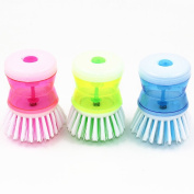 E Support™ 6 PCS New Kitchen Wash Tool Pot Pan Dish Bowl Palm Brush Scrubber Cleaning Cleaner Gadget