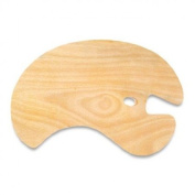 Left Hand Grip Wood Palette for the Right Hand Artist